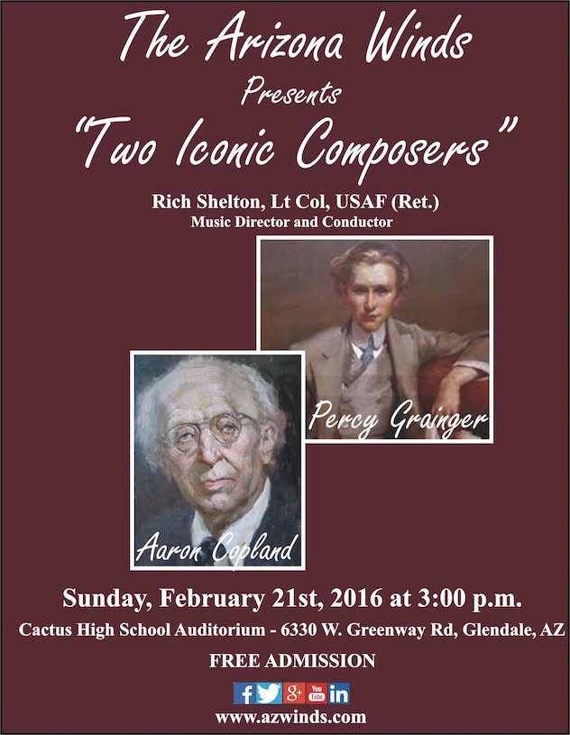 Two Iconic 20th Century Composers