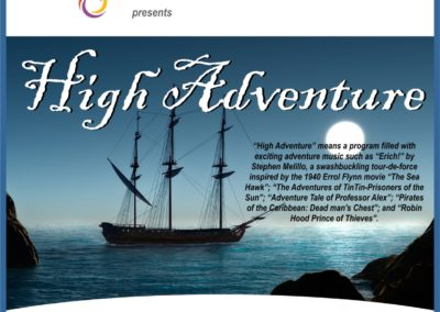 AZWINDS CONCERTS FLYER5 HIGH ADVENTURE 2018-19